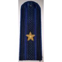 Погоны юстиции повседневные вышитые золотом звезды майор