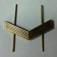 Знак различия ефрейтор метал золото