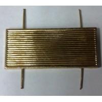 Знак различия старшина МВД металл золото (20х45)