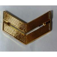 Знак различия младший сержант полиамид золото