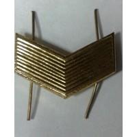 Знак различия старший сержант металл золото