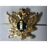 Эмблема петличная ФССП без венка золото метал