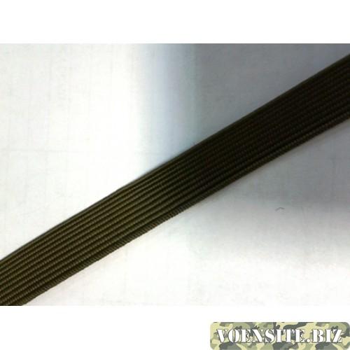 Галун оливкового цвета 1 м ширина 10 мм