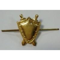 Эмблема петличная Прокуратура золото металл  малая