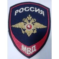 Шеврон Внутренняя служба Полиции вышитый