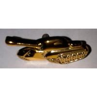 Эмблема петличная Танковые войска без венка золото полиамид, правая левая