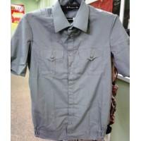 Рубашка оливкового цвета короткий рукав