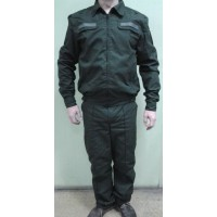 Форма офисная МО РФ  зеленого цвета