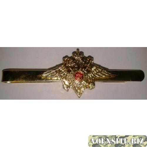 Зажим для галстука МВД золото