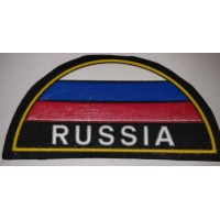 Шеврон триколор Russia простой
