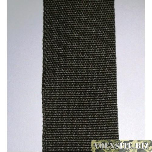 Галун оливкового цвета 1 м ширина 30 мм